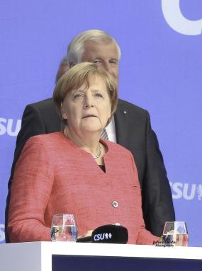 Angela Dorothea Merkel ist eine deutsche Politikerin und seit dem 22. November 2005 amtierende Bundeskanzlerin der Bundesrepublik Deutschland. Am 14. März 2018 wurde Merkel vom Bundestag zum vierten Mal zur Bundeskanzlerin gewählt.  Foto: Julian Ovidiu